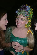 Katherine Greig and Katrine Boorman. Party for Bret Easton Ellis's book 'Lunar Park'  given by Geordie Greig. Home House. Portman Sq. London.  London. 5 October 2005. . ONE TIME USE ONLY - DO NOT ARCHIVE © Copyright Photograph by Dafydd Jones 66 Stockwell Park Rd. London SW9 0DA Tel 020 7733 0108 www.dafjones.com