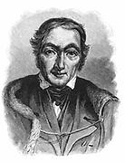 Robert Owen (1771-1858) Welsh-born British philanthropist and socialist. Bought New Lanark Mills c1799. Engraving