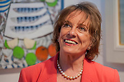 Esther Rantzen opens the Chelsea Art Fair with a charity evening for one of her charities, Hearing Dogs for Deaf People. Fulham, London, UK. Guy Bell, 07771 786236, guy@gbphotos.com