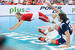 13.09.2014, Luczniczka Hall, Bydgoszcz, POL, FIVB WM, Polen vs Iran, 2. Runde, Gruppe E, im Bild Pawel Zatorski // during the FIVB Volleyball Men's World Championships 2nd Round Pool E Match beween Poland and Iran at the Luczniczka Hall in Bydgoszcz, Poland on 2014/09/13. EXPA Pictures © 2014, PhotoCredit: EXPA/ Newspix/ Mariusz Palczynski<br /> <br /> *****ATTENTION - for AUT, SLO, CRO, SRB, BIH, MAZ, TUR, SUI, SWE only*****