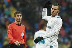 January 13, 2018 - Madrid, Spain - Gareth Bale (midfielder; Real Madrid) in action during La Liga match between Real Madrid and Villareal CF at Santiago Bernabeu on January 13, 2018 in Madrid (Credit Image: © Jack Abuin via ZUMA Wire)