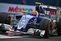 Felipe Nasr (BRA) Sauber C35.<br /> 28.10.2016. Formula 1 World Championship, Rd 19, Mexican Grand Prix, Mexico City, Mexico, Practice Day.<br /> Copyright: Batchelor / XPB Images / action press