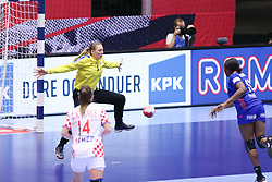 EHF Euro 2020 Semifinal Match between France and Croatia in Jyske Bank Boxen, Herning, Denmark on December 18, 2020. Photo Credit: Allan Jensen/EVENTMEDIA.