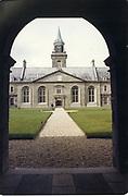 Old amateur photos of Dublin streets churches, cars, lanes, roads, shops schools, hospitals Royal Hospital Kilmainham April 1986
