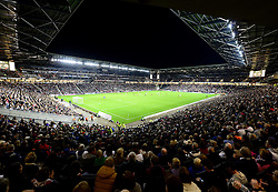 It was a record attendance at Stadium MK - Photo mandatory by-line: Joe Meredith/JMP - Mobile: 07966 386802 26/08/2014 - SPORT - FOOTBALL - Milton Keynes - Stadium MK - Milton Keynes Dons v Manchester United - Capital One Cup