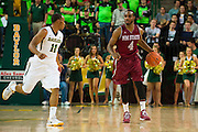 WACO, TX - DECEMBER 17: Ian Baker #4 of the New Mexico State Aggies brings the ball up court against the Baylor Bears on December 17, 2014 at the Ferrell Center in Waco, Texas.  (Photo by Cooper Neill/Getty Images) *** Local Caption *** Ian Baker