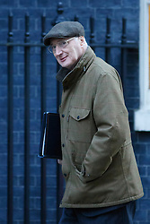 © licensed to London News Pictures. London, UK 14/01/2014. Chief  Whip, Sir George Young attending to a cabinet meeting on Downing Street on Tuesday, 14 January 2014. Photo credit: Tolga Akmen/LNP