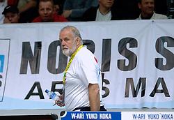 26-05-2006 JUDO: EUROPEES KAMPIOENSCHAP: TAMPERE FINLAND<br /> Een teleurgestelde Cor van der Geest<br /> ©2006-WWW.FOTOHOOGENDOORN.NL