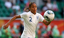 27-06-2011 VOETBAL: FIFA WOMENS WORLDCUP 2011 MEXICO - ENGLAND: WOLFSBURG<br /> Alex Scott  (ENG)<br /> ***NETHERLANDS ONLY***<br /> ©2011-FRH- NPH/Hessland