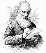 William Thomson, Lord Kelvin (1824-1907), Scottish mathematician and physicist. Engraving published 1906