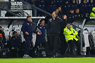 Derby County Manager Phillip Cocu during the EFL Sky Bet Championship match between Derby County and Sheffield Wednesday at the Pride Park, Derby, England on 11 December 2019.