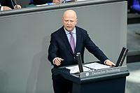 08 DEC 2020, BERLIN/GERMANY:<br /> Michael Theurer, mdb, FDP, Haushaltsdebatte, Plenum, Reichstagsgebaeude, Deuscher Bundestag<br /> IMAGE: 20201208-02-108<br /> KEYWORDS: Rede
