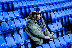 An Everton fan in a Santa Hat - Mandatory by-line: Robbie Stephenson/JMP - 23/12/2018 - FOOTBALL - Goodison Park - Liverpool, England - Everton v Tottenham Hotspur - Premier League