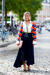 Street style, Janka Poliiani arriving at Fonnesbech Spring Summer 2017 show held at Nikolaj Plads, in Copenhagen, Denmark, on August 10, 2016. Photo by Marie-Paola Bertrand-Hillion/ABACAPRESS.COM  | 558625_017 Copenhagn Danemark Denmark