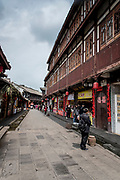 Chengdu, Kuan Zhai Xiang Zi historic city. Sichuan, China