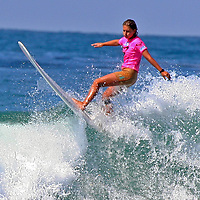 2007 reigning champion Jen Smith defends her title through Heat 5 of the 3rd Annual Roxy Jam Cardiff Linda Benson Women's World Longboard Professional.