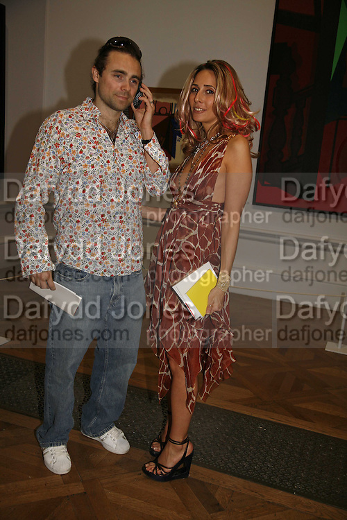 James Archer and Tara Bernerd, Summer Exhibition preview party. Royal Academy. Piccadilly. London. 7 June 2006. ONE TIME USE ONLY - DO NOT ARCHIVE  © Copyright Photograph by Dafydd Jones 66 Stockwell Park Rd. London SW9 0DA Tel 020 7733 0108 www.dafjones.com