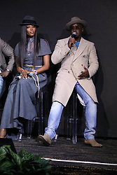November 10, 2017 - New York City, New York, USA - 11/10/17.Naomi Campbell and Sean Diddy Combs at a photocall for the 2018 Pirelli Calendar by Tim Walker in New York City. (Credit Image: © Starmax/Newscom via ZUMA Press)
