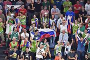 Tifosi Slovenia<br /> Slovenia - Lettonia<br /> Eurobasket 2017 Quarti di Finale<br /> Istanbul 12/09/2017<br /> Foto Ciamillo-Castoria