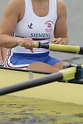 Eton, GREAT BRITAIN,GBR W8+,  Vicki ETIEBET, Natasha PAGE, Natasha HOWARD, Carla ASHFORD, Beth RODFORD, Alison KNOWLES, Katie GREVES, Elise LAVERICK and Cox Caoline O'CONNER, at the start 2006 World Rowing Championships, 23/08/2006.  Photo  Peter Spurrier, © Intersport Images,  Tel +44 [0] 7973 819 551,  email images@intersport-images.com , Rowing Courses, Dorney Lake, Eton. ENGLAND