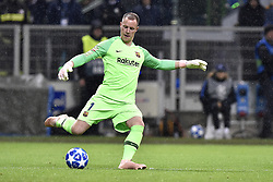 November 6, 2018 - Milan, Milan, Italy - Marc-Andre ter Stegen of Barcelona during the UEFA Champions League Group Stage match between Inter Milan and Barcelona at Stadio San Siro, Milan, Italy on 6 November 2018. (Credit Image: © Giuseppe Maffia/NurPhoto via ZUMA Press)
