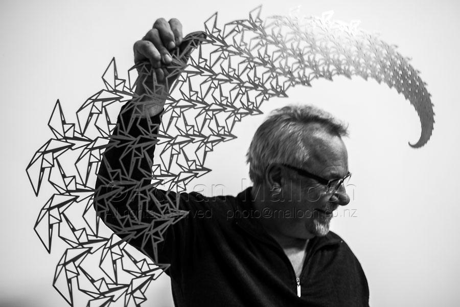 Artist and sculptor Neil Dawson.