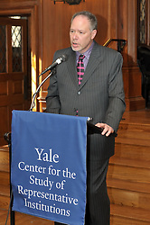 YCRI Opening Reception at Yale, March 25, 2011. Branford College Common Room and Union League Cafe. Candid - Speakers - Posed