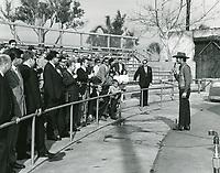 1970 Universal Studios tour guide speaks tourists