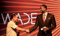 Beijing: Dwayne Wade for Li-Ning shoe brand - 25 July 2017