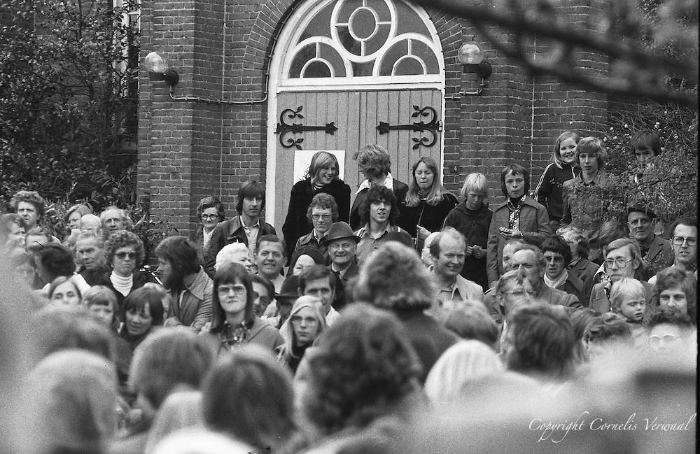 Koninginnedag in Ammerstol, 1977