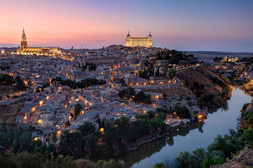 Toledo is a city and municipality located in central Spain, it is the capital of the province of Toledo and the autonomous community of Castile–La Mancha. It was declared a World Heritage Site by UNESCO in 1986 for its extensive cultural and monumental heritage and historical co-existence of Christian, Muslim and Jewish cultures.