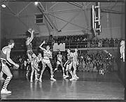 Portland Pilots vs Gonzaga, February 2, 1952.