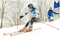 Macomber Cup J1 J2 giant slalom at Dartmouth Skiway, January 24, 2010.