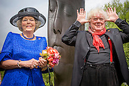 Prinses Beatrix der Nederlanden opent vrijdag 22 mei de internationale sculptuurroute ARTZUID 2015 i