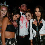 Westend Halloween revellers, London, UK