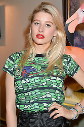 PHOEBE LETTICE at a dinner hosted by Kate Spade NY to celebrate Chelsea in Bloom held at Daphne's, 112 Draycott Avenue, London on 20th May 2015.