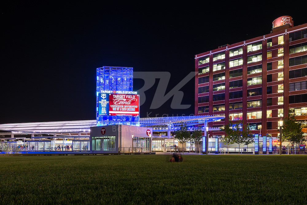A general view of Target Field Station on July 3, 2014 in Minneapolis, Minnesota.  Photo by Ben Krause