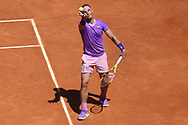 Rafael Nadal of Spain during the Mutua Madrid Open 2021, Masters 1000 tennis tournament on May 7, 2021 at La Caja Magica in Madrid, Spain - Photo Laurent Lairys / ProSportsImages / DPPI