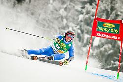 Giulio Giovanni Bosca of Italy during 2nd run of Men's Giant Slalom race of FIS Alpine Ski World Cup 57th Vitranc Cup 2018, on March 3, 2018 in Podkoren, Kranjska Gora, Slovenia. Photo by Ziga Zupan / Sportida