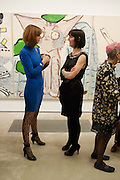MAXINE WAREHAM; KATHRYN JACKSON;, Opening reception of the Jerwood Gallery. The Stade, Hastings. 16 March 2012.