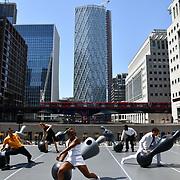 GDIF - Dancing City at Canary Wharf, London, UK