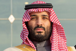 File photo - Saudi Crown Prince Mohammed bin Salman (also known as MBS) attends a graduation ceremony for Saudi airforce officers at King Faisal Airbase in Tabuk, Saudi Arabia on December 23, 2018. A rumor says that Lohan and the crown prince of Saudi Arabia Mohamed Bin Salman, or MBS, have gotten close, and that he's been flying her around in his jets and showering her with presents, including a gift-wrapped credit card. Photo by Bandar Al Jaloud - Royal Palace / ABACAPRESS.COM