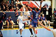 DESCRIZIONE : France Hand D1 Championnat de France D1 a Paris <br /> GIOCATORE : KARABATIC Nikola<br /> SQUADRA : Montpellier<br /> EVENTO : FRANCE Hand D1<br /> GARA : Paris Montpellier<br /> DATA : 30/09/2012<br /> CATEGORIA : Hand D1 <br /> SPORT : Handball<br /> AUTORE : JF Molliere <br /> Galleria : France Hand 2012-2013 Action