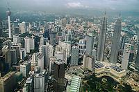 KLCC featuring KL Tower & Petronas Towers