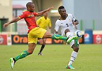 Baïssama Sankoh ( Guinee ) - Asamoah Gyan ( Ghana )