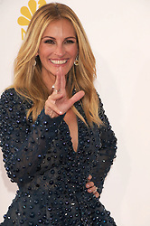 Aug. 25, 2014 - Los Angeles, California, USA - Aug 25, 2014 - Los Angeles, California, USA - Actress JULIA ROBERTS   at the 66th PrimeTime Emmys Awards  held at the Nokia Theater. (Credit Image: © Paul Fenton/ZUMA Wire)