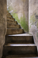 Bunker stairs Fort Casey State Park, Washington.