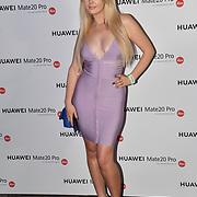 Jodie Weston attend Huawei - VIP celebration at One Marylebone London, UK. 16 October 2018.