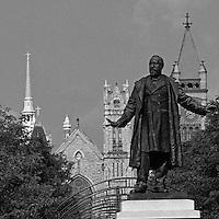 Statue of James Garfield