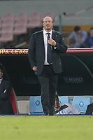 Rafael Benitez Napoli, <br /> Napoli 07-05-2015 Stadio San Paolo <br /> Football Calcio UEFA Europa League Semi-finals, First leg. Napoli - Dnipro.<br /> Foto Cesare Purini / Insidefoto